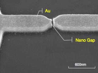 Nano-Gap Electrode (example)